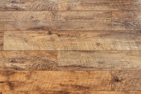 Photo for Carpentry template with brown wooden planks - Royalty Free Image
