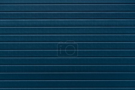 Blue wall panel industrial background