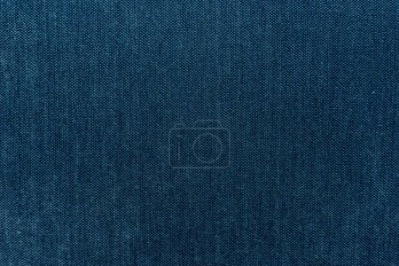 Background of blue cloth thread texture