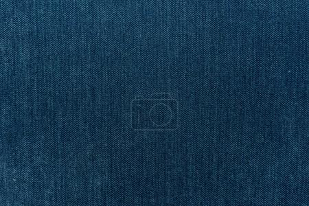Photo pour Fond de texture de fil de tissu bleu - image libre de droit