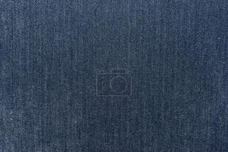Detailed blue textile surface background