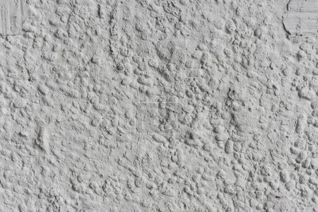 Surface of rough textured light wall