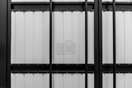 Metal wall panel industrial background