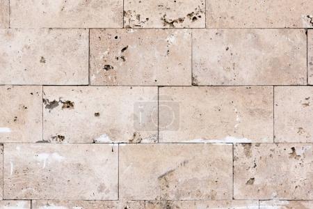 Light stone bricks texture background