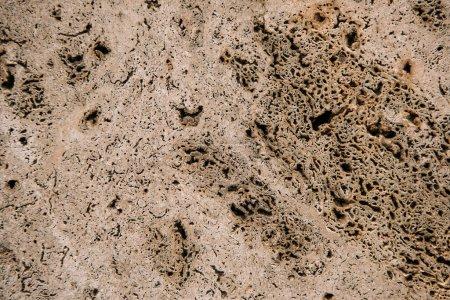 Photo pour Vieux plâtre beige sur fond mural - image libre de droit