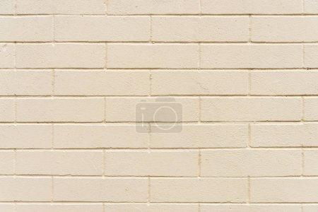 Foto de Fondo de textura de pared de ladrillos beige - Imagen libre de derechos