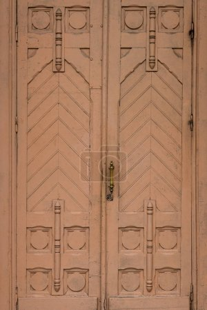 Wooden vintage doors texture background