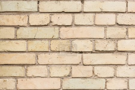 Photo pour Vieux mur avec fond de briques brisées - image libre de droit