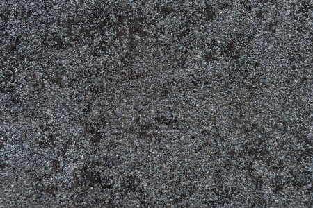 Photo for Black textured surface abstract background - Royalty Free Image
