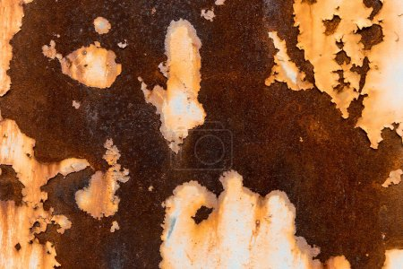 Rusty old surface abstract background