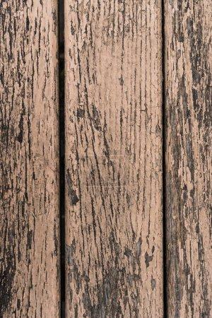 Photo pour Vieilles fissures de peinture sur fond de surface en bois - image libre de droit