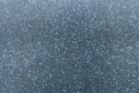 Photo for Galvanized iron sheet metal texture - Royalty Free Image