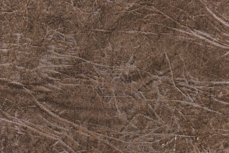Photo for Brown genuine leather detailed background - Royalty Free Image