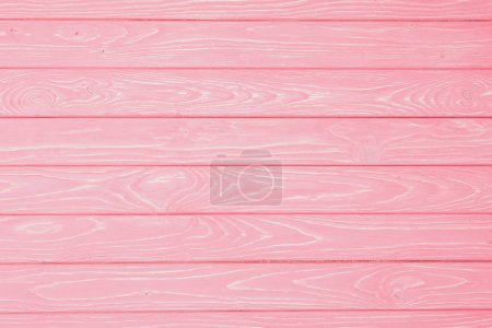 full frame shot of pink wooden texture