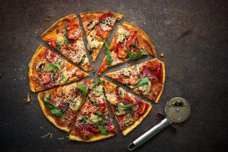Traditional italian pizza