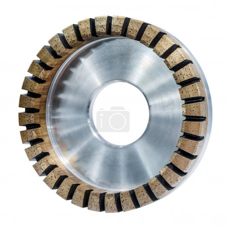 Grinding wheel for glass processing.
