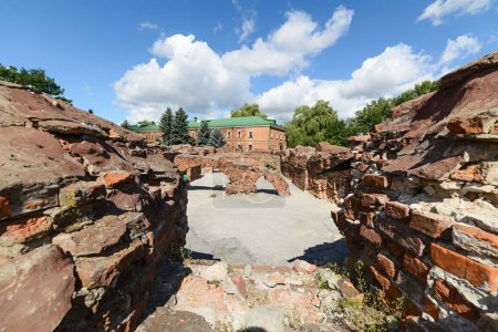 Ruins of the barracks basements. Brest Fortress