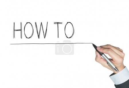 how to written by hand