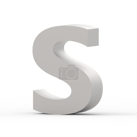 Matte grey font S