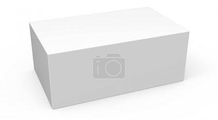 blank template box model