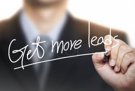 get more leads written by hand