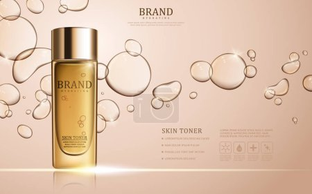 Skin toner ads template