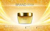 Cosmetic cream container