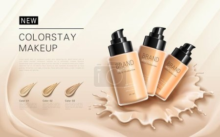 Elegant foundation ads