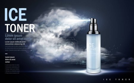 ice toner ad dark blue