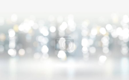 Abstract bokeh particles background