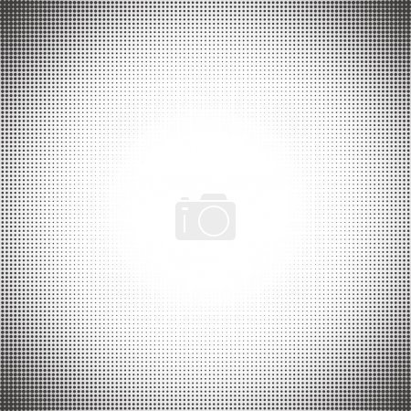 Illustration for Abstract halftone pattern design in beige and brown. - Royalty Free Image