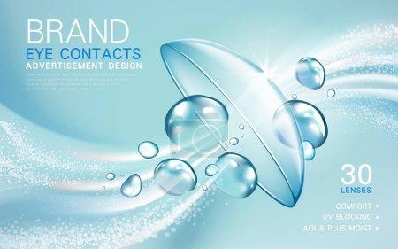 contact lenses ad