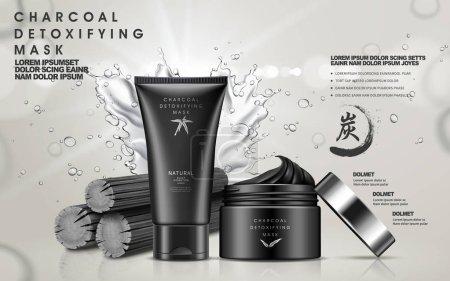 charcoal detoxifying mask