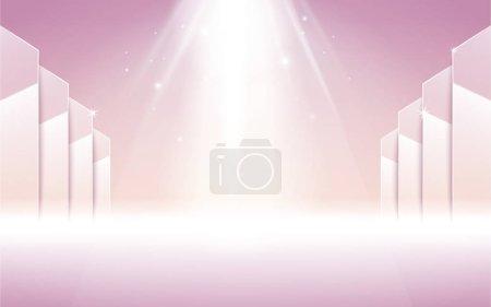 pink stage spotlight