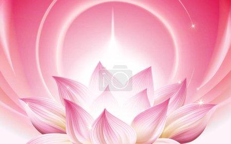 lightful lotus background