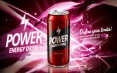 power drink red