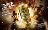 power drink golden