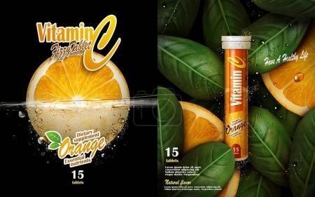 vitamin tablet ad