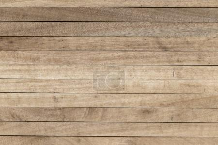 Photo for Brown wood plank wall texture background, close up - Royalty Free Image