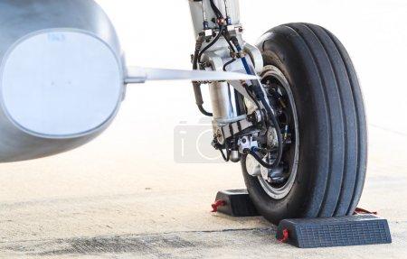 Modern Airplane wheel
