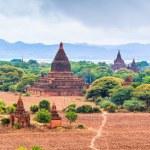 Bagan - old Pagoda in Bagan city at Shan State mya...