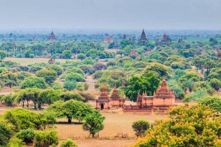 Ville de Bagan à l'état de Shan
