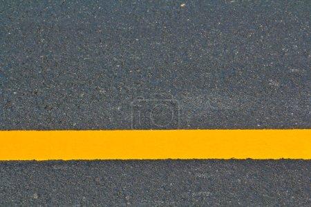 Yellow line Asphalt