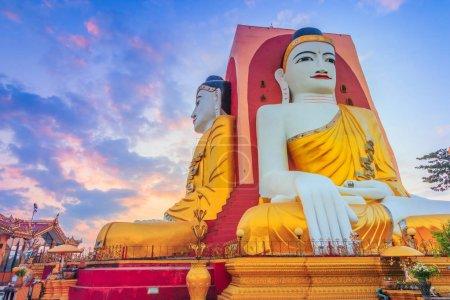 Kyaikpun Buddha in Bago