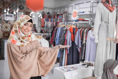 n fashion boutique owner welcoming