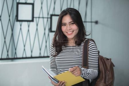 Stylish Young Girl student