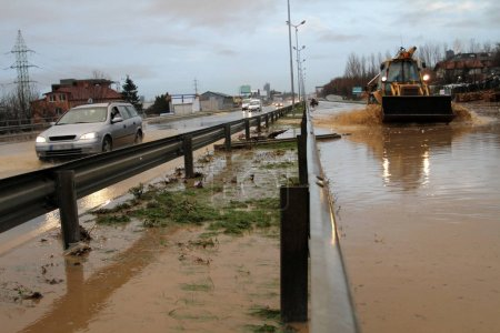 Large flood happens because of the poor constructi...