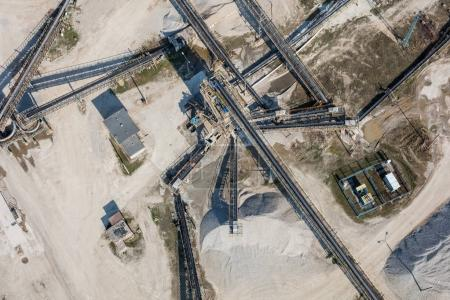 sand and stone processing plant