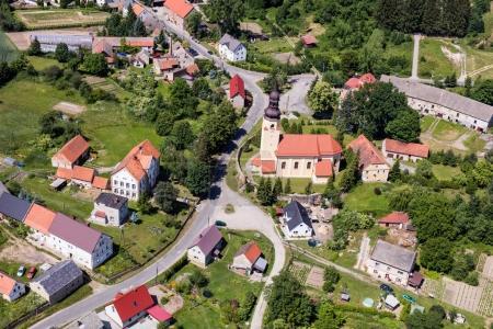 Starczowek village near Paczkow