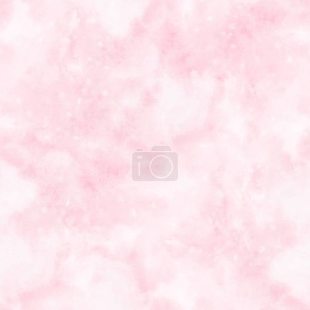 Photo pour Abstract blurry pink watercolor background with stains. Seamless pattern. - image libre de droit
